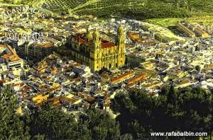 Jaén desde el aire